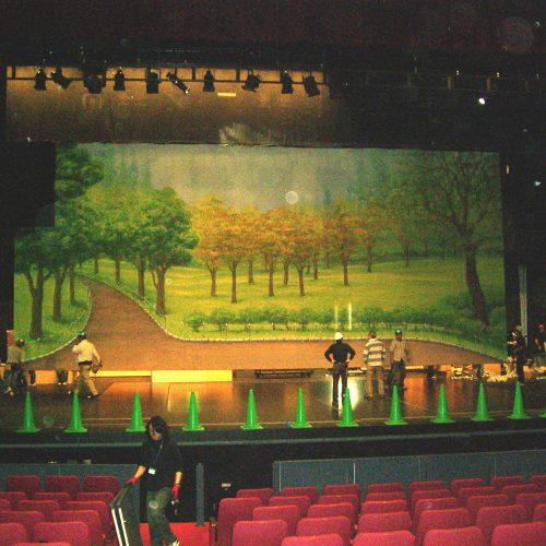 キャナルシティ舞台背景画